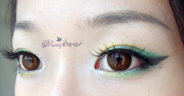 灵妆~适合单眼皮mm的眼线