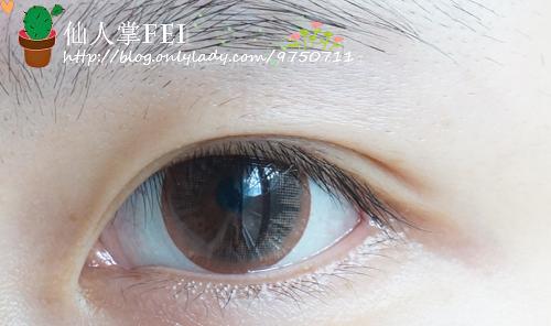 不贴双眼皮贴,让内双的双眼皮更明显的眼线画法!