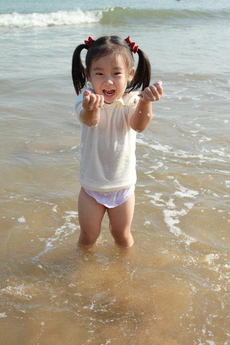 青岛—石老人海边浴场