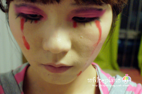 万圣节mix中国风妆容