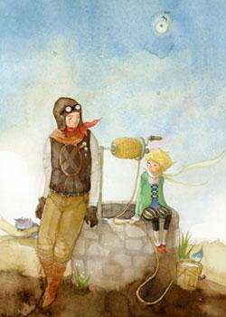 女孩 每个/《小王子》是我们编辑部每个女孩的珍藏书籍,心情好的时候可能...