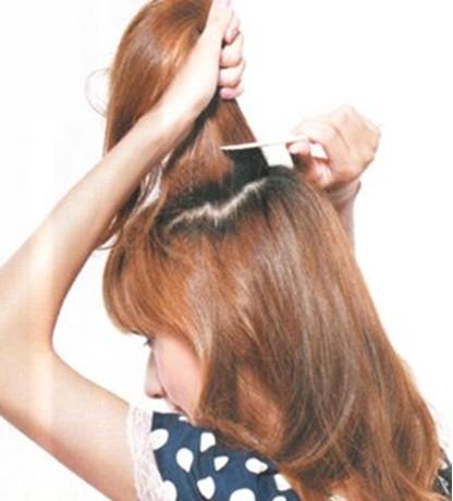 好看的发型扎法 长头发的扎法图片