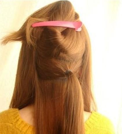 头发编扎法图解