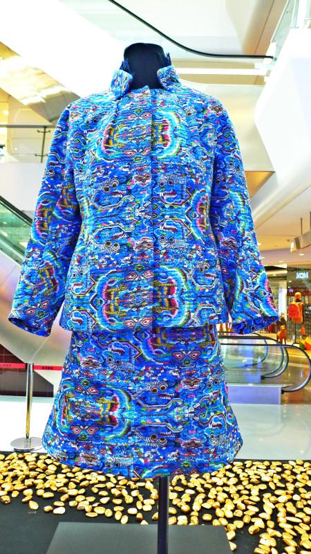 中式棉袄缝制图解