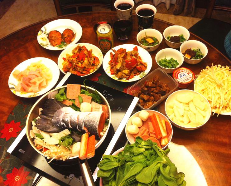 【晒我家的元宵饭】海鲜团圆饭