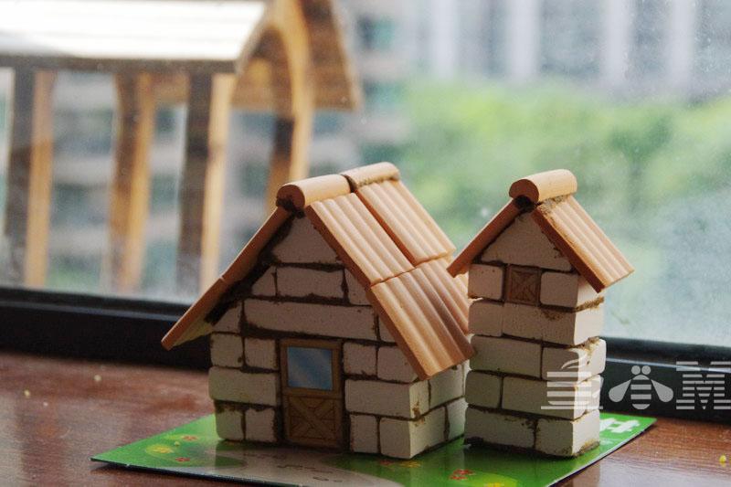 天宝自己动手造房子!