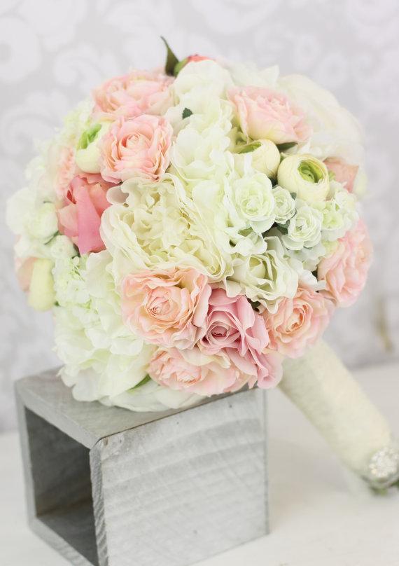 各种美美的新娘捧花