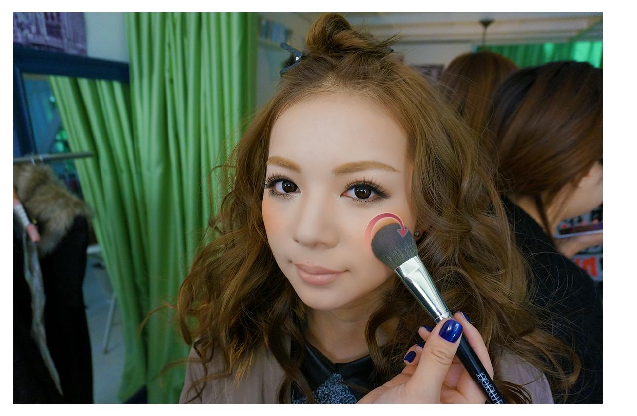 昕薇模特 王艳丽 倾情打造【大眼麻豆妆】