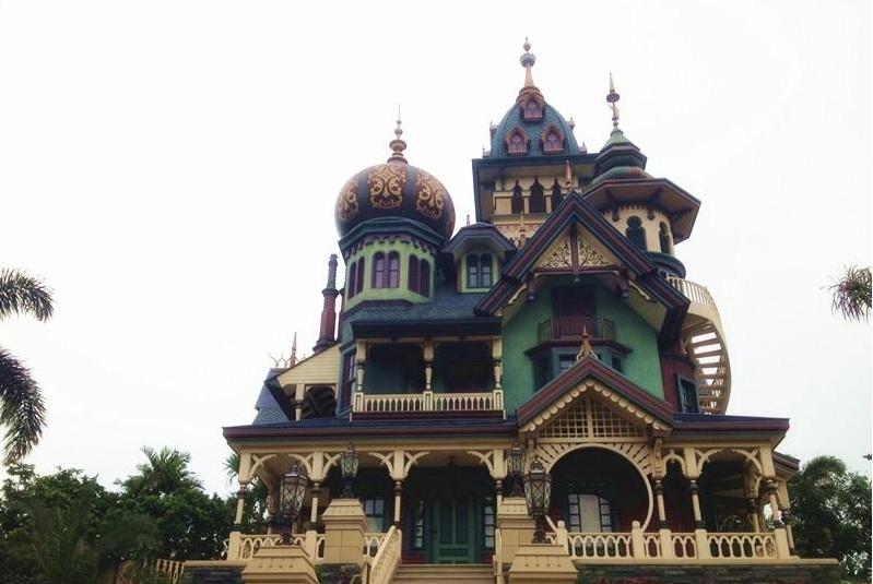 唯美奇幻欧式建筑