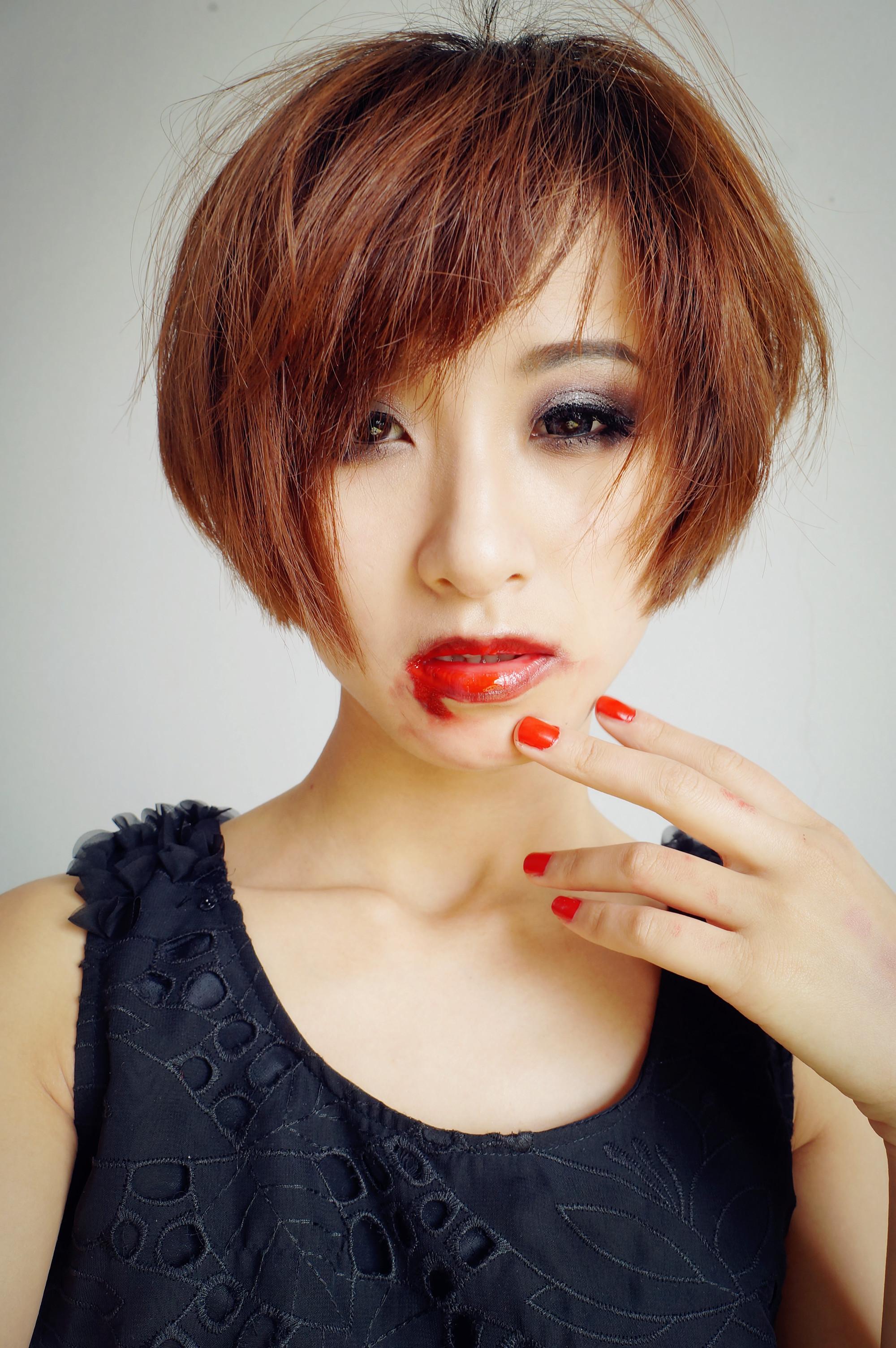 【陶小猫猫】万圣节妆容—妖娆吸血鬼