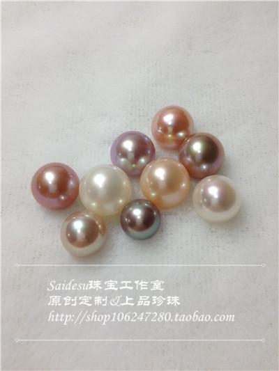 淡水无核异彩珍珠欣赏之三 珠宝玉石图片