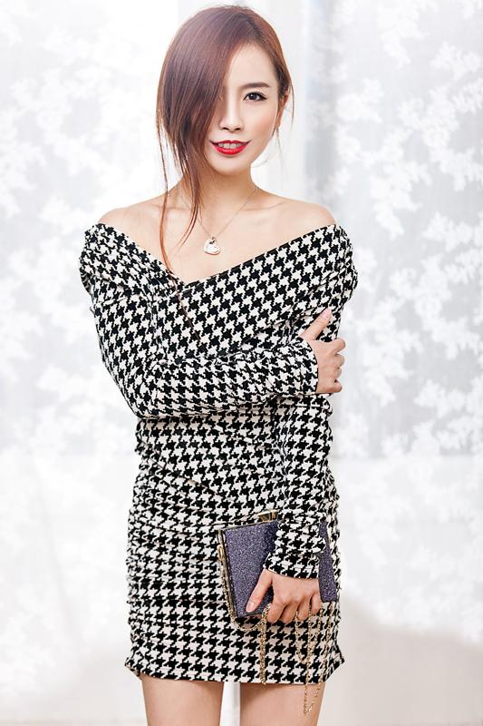 【妮儿の私服日记】千鸟格纹的时尚 - 妮儿太妖 - 妮儿太妖的博客