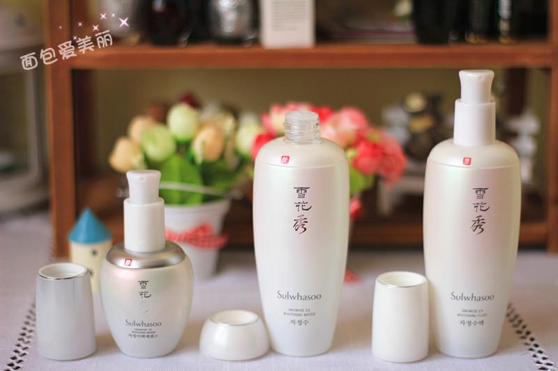 美白也可以很滋润——雪花秀滋晶雪肤美白系列产品