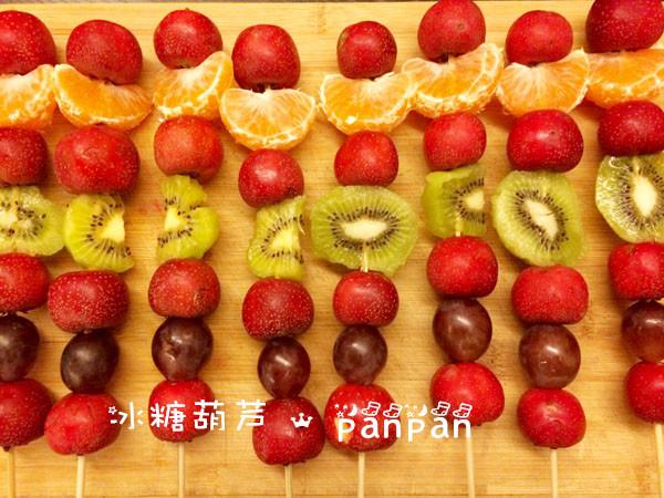 碎布手工制作水果