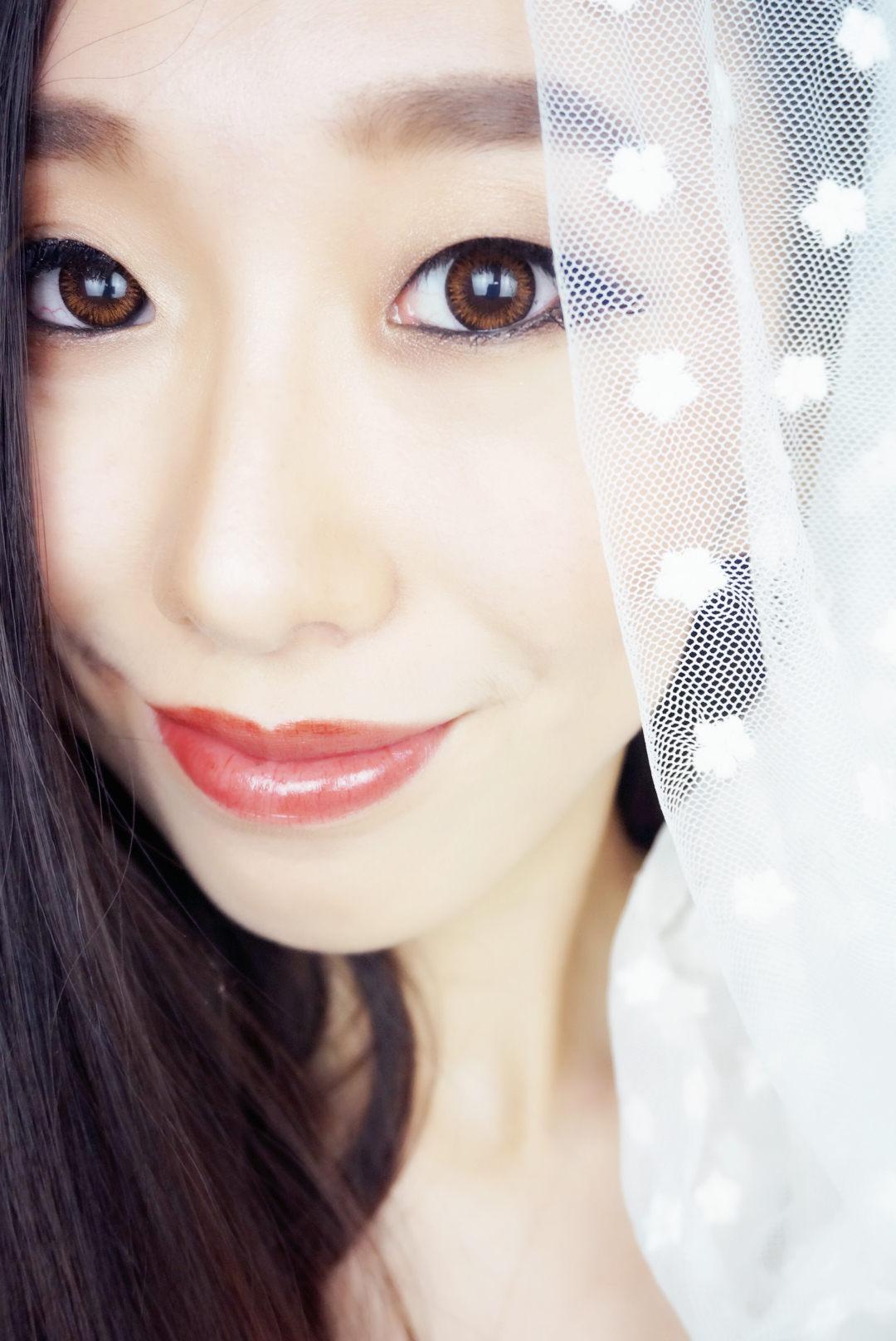 【爱美小菲阳】属于单眼皮妹子的高冷新娘妆