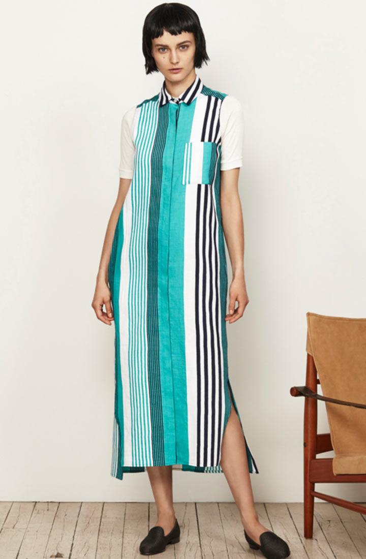 2016春夏服装流行趋势分析-衬衫裙图片