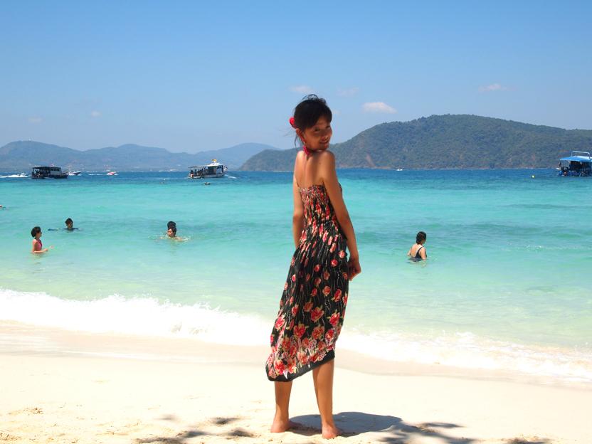沙滩海洋搞笑组合照(普吉岛3)