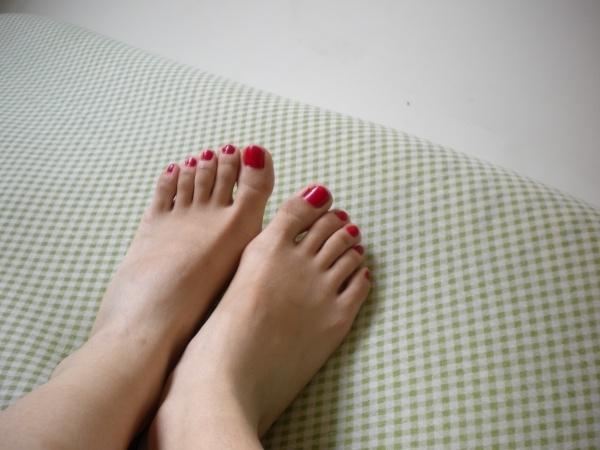脚丫子上的比基尼+真脚
