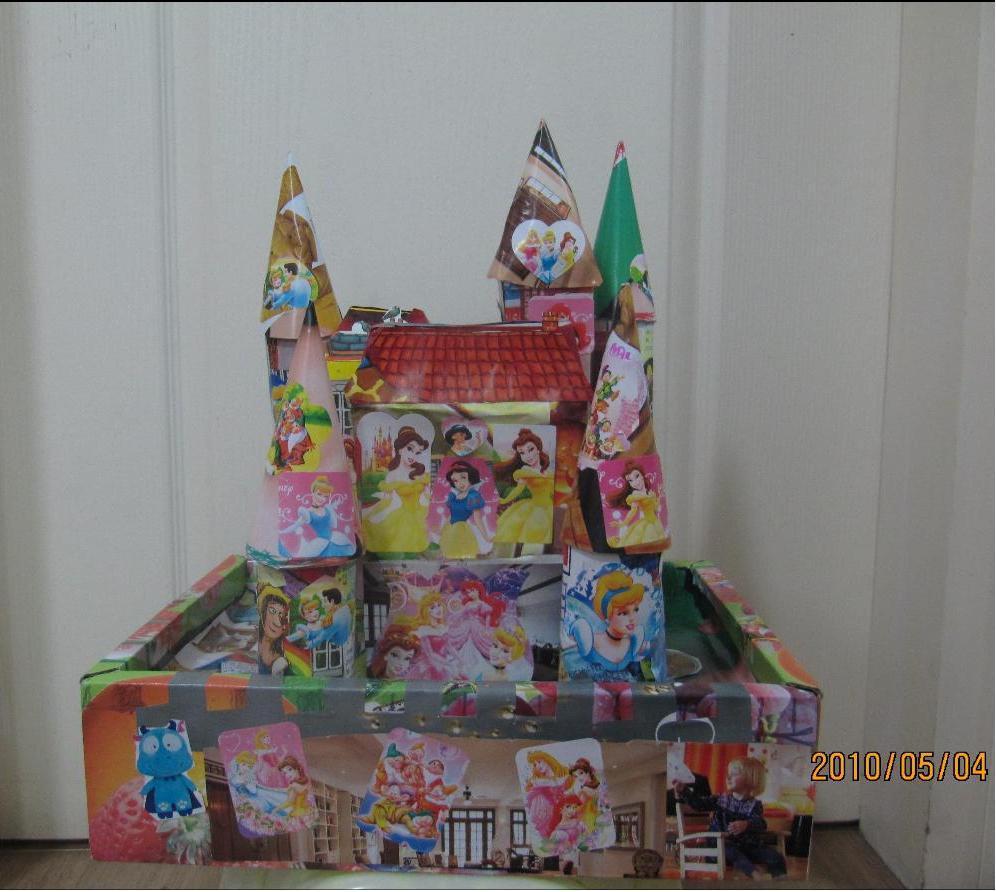 手工城堡制作大全图片步骤