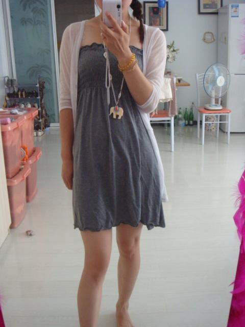 旧衣改成裙子图解