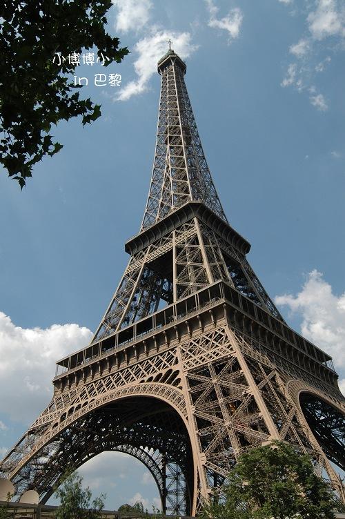 风景照片图片 黑白 巴黎铁塔