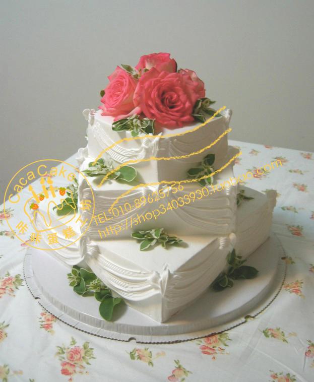 超级可爱的生日蛋糕,我亲手做的哦
