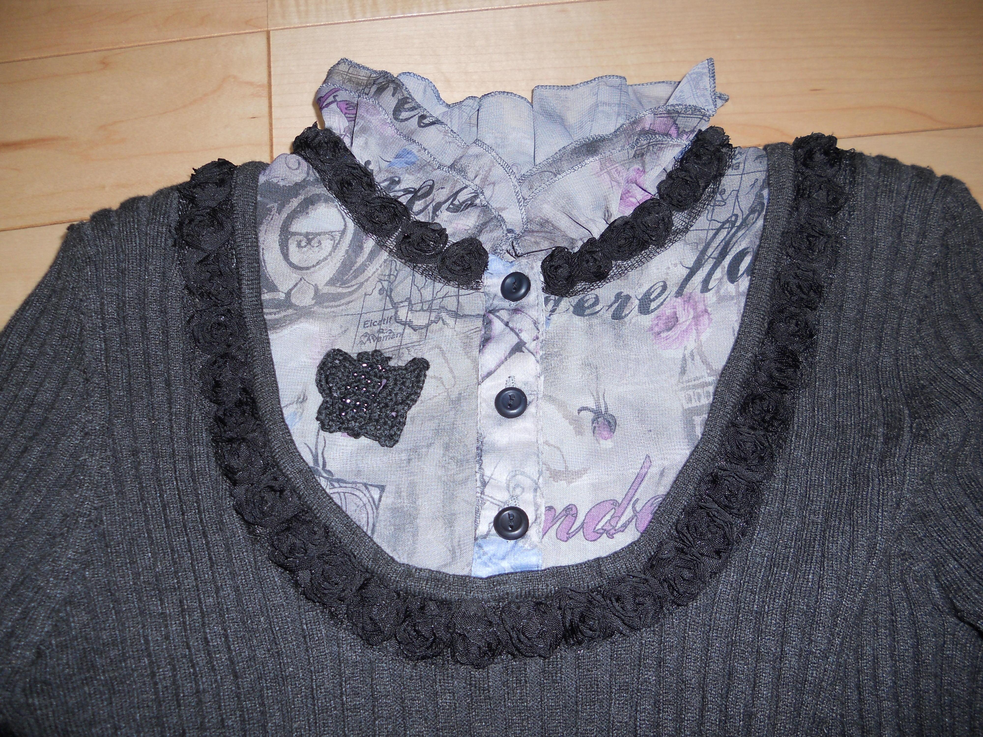 志   46款毛线钩针编织时尚披肩的图解教程 74   万能的爱物高清图片