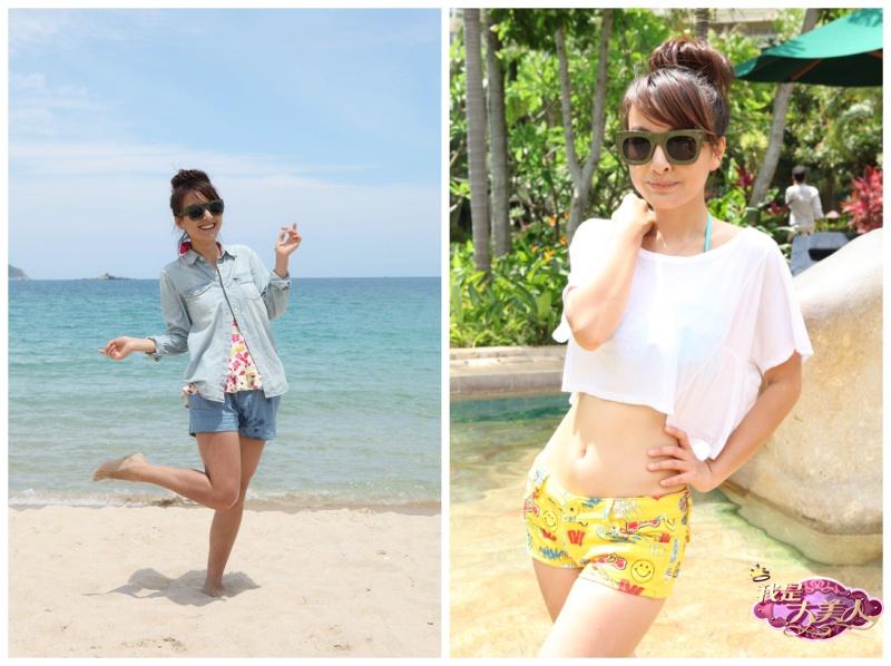 夏日海边美女全攻略 比基尼碰撞时尚元素