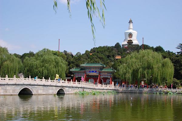 北京夏天@北海公园