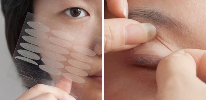 内双的美女们常常面临自己的眼睛到底是属于双眼皮
