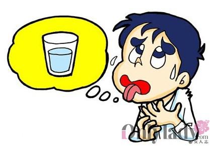 幼儿卡通喝水图片