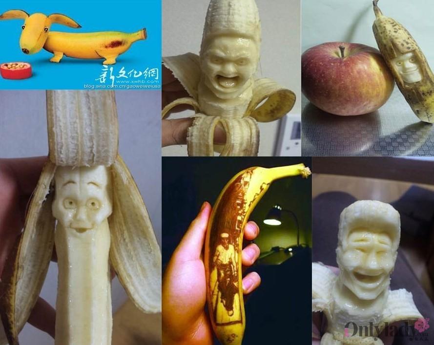 儿童雕刻西瓜图片