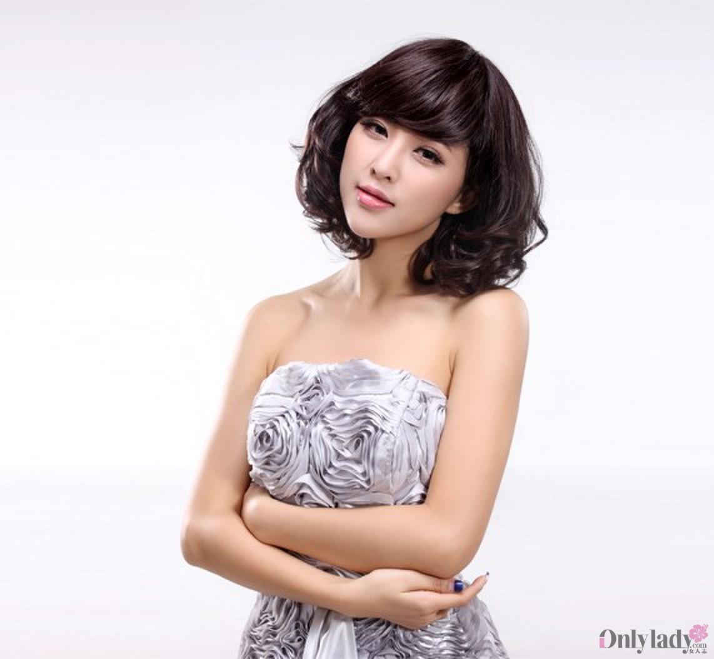 女生脸型发型设计图片(3)图片