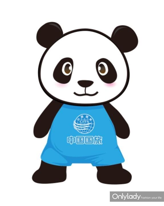 大伙别看下面这只大熊猫的颜色与线条十分简单,其实可大有来头呢!